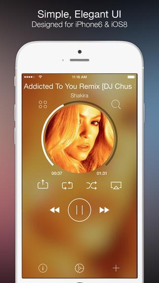 Tuner - Simple Elegant Music Player - Imagem 1 do software