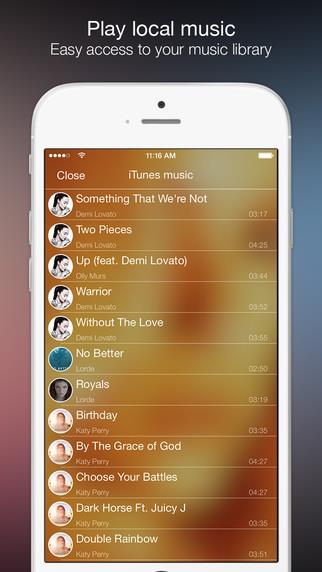 Tuner - Simple Elegant Music Player - Imagem 2 do software
