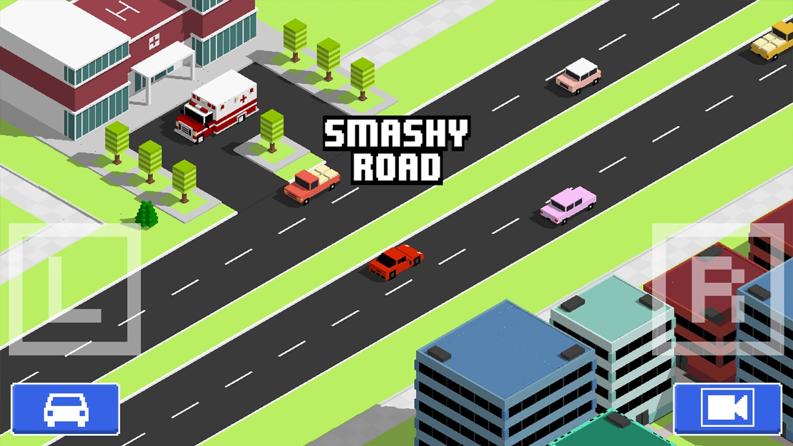 Smashy Road: Wanted - Imagem 1 do software