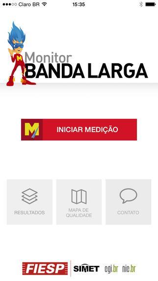 Monitor Banda Larga - Imagem 1 do software