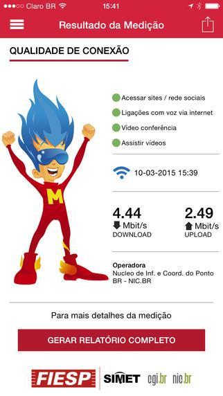 Monitor Banda Larga - Imagem 2 do software