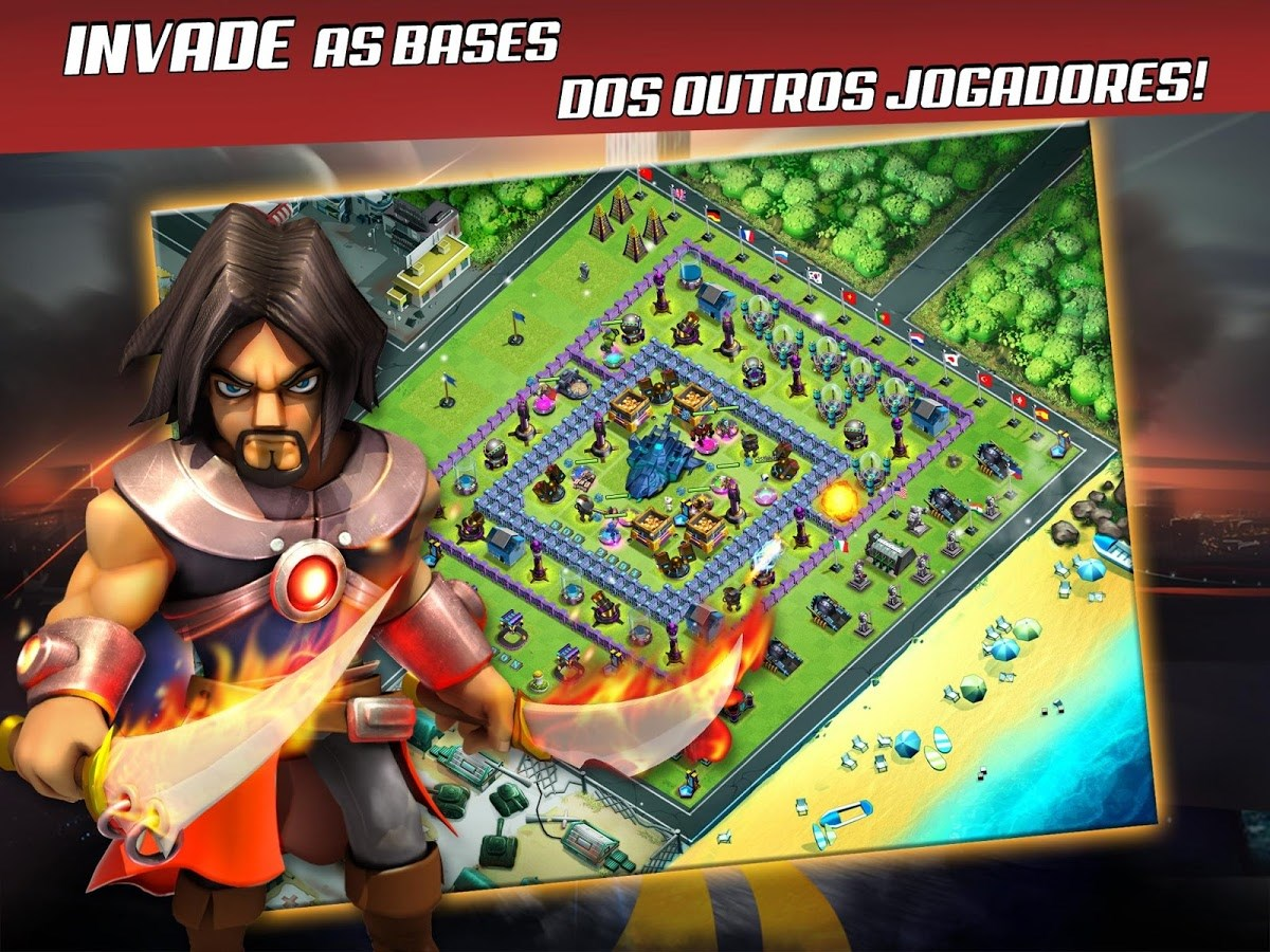 X-War: Clash of Zombies - Imagem 1 do software