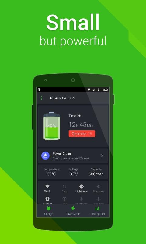 Power Battery - Battery Saver - Imagem 1 do software