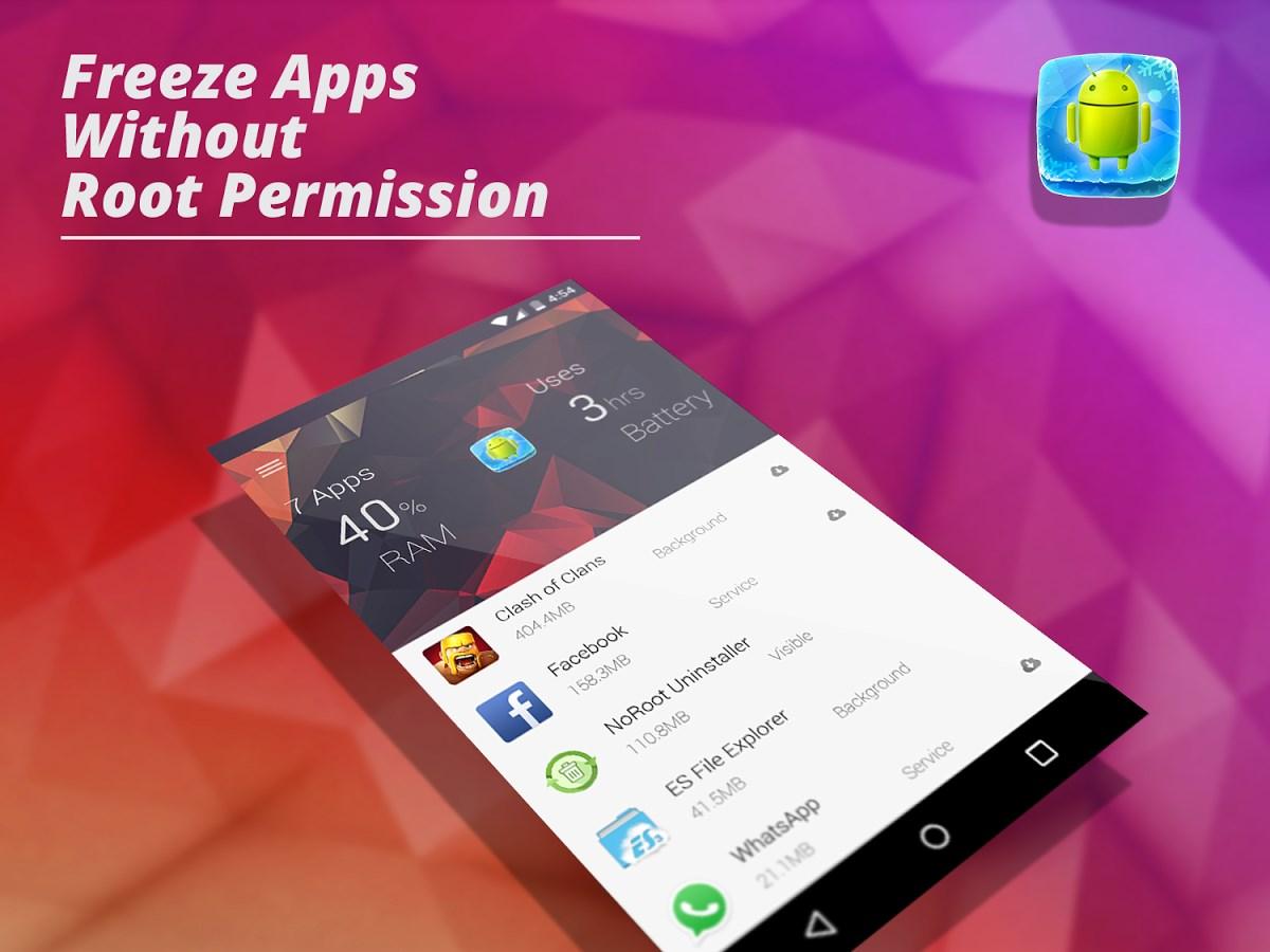App Freezer (NoRoot) - Imagem 1 do software