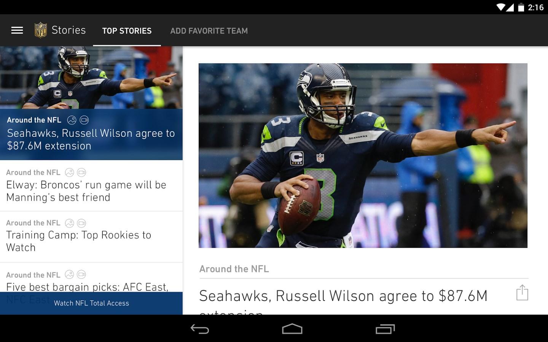 NFL Mobile - Imagem 1 do software