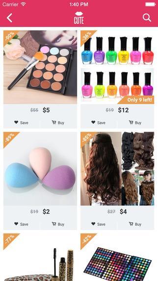 Cute - Beauty Shopping - Imagem 1 do software