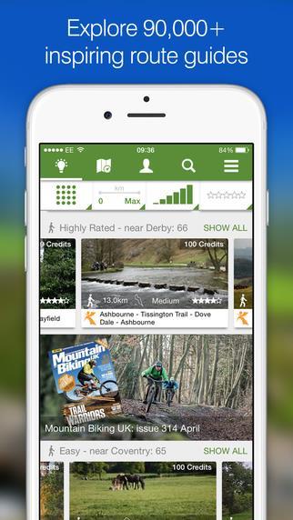 ViewRanger GPS - Imagem 2 do software