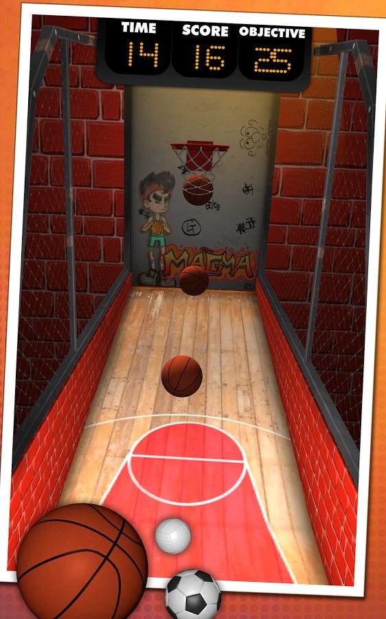 Basketball Shooter - Imagem 1 do software