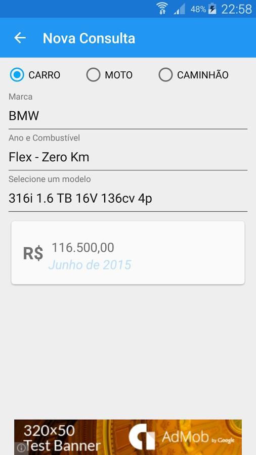 Car Ad - Preços de Veículos - Imagem 1 do software