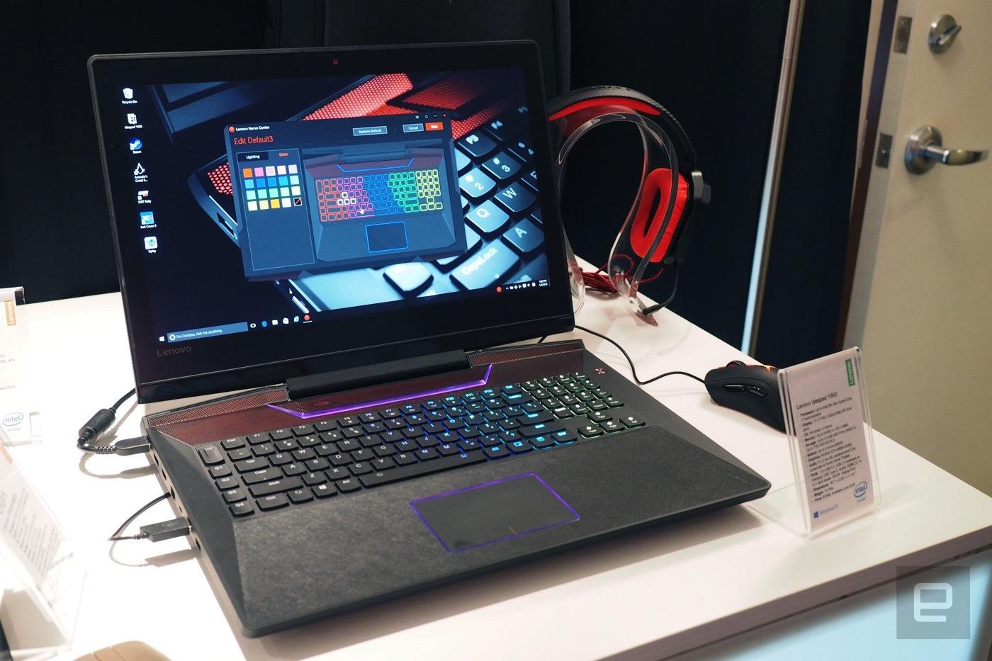 Y900 é o notebook gamer da Lenovo que faz overclock com