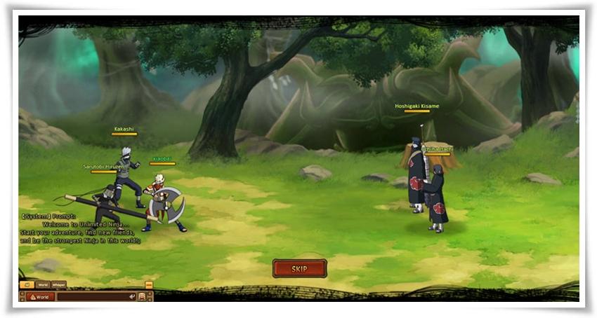 Unlimited Ninja - Imagem 2 do software