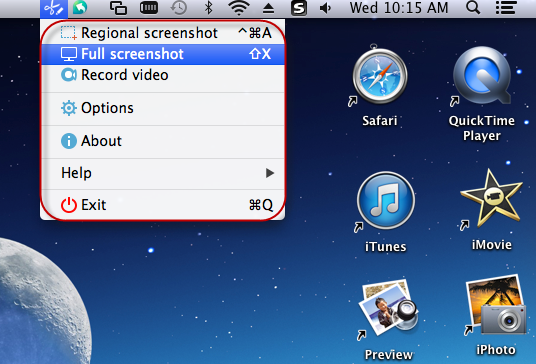 Apowersoft Mac Screenshot - Imagem 1 do software