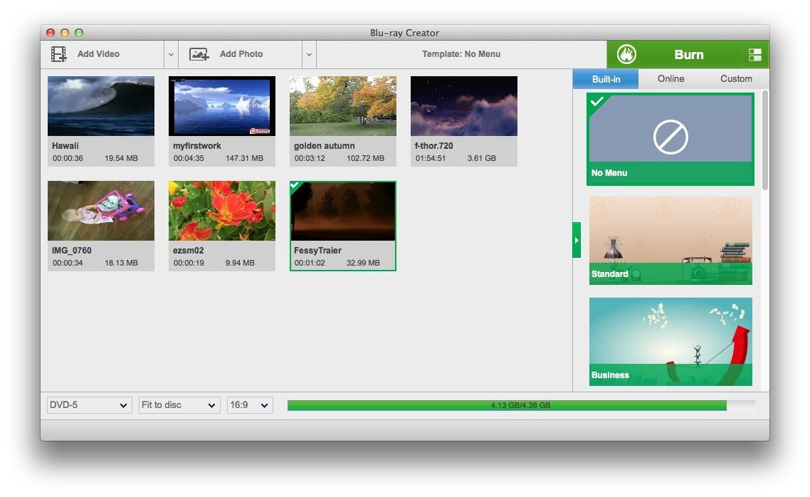 Leawo Blu-ray Creator for Mac - Imagem 1 do software