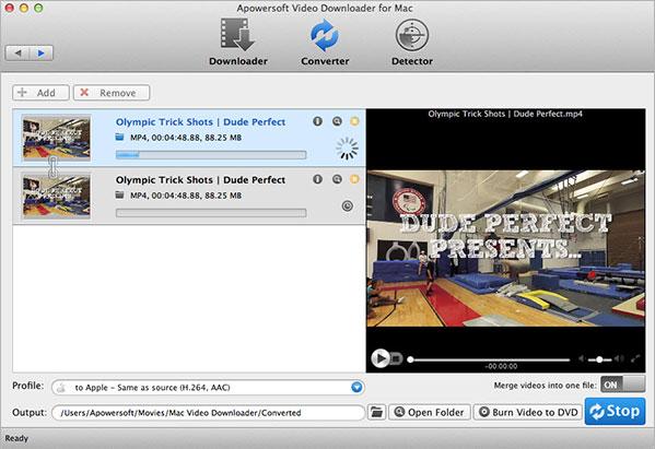 Apowersoft Video Converter for Mac - Imagem 1 do software