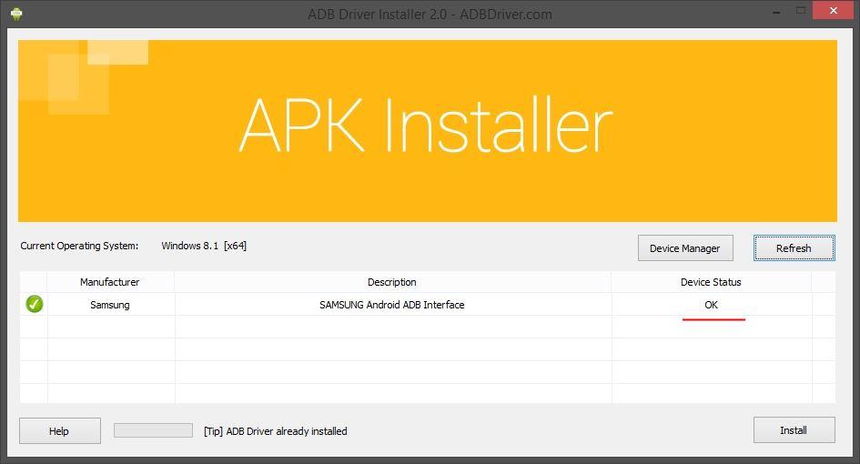 Como instalar os drivers ADB de dispositivos Android no