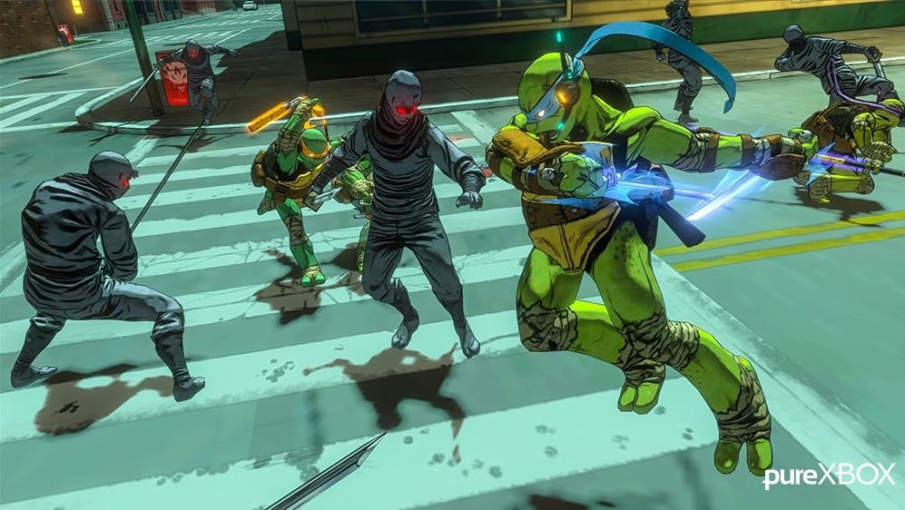 Confira screenshots vazadas de TMNT: Mutants in Manhattan