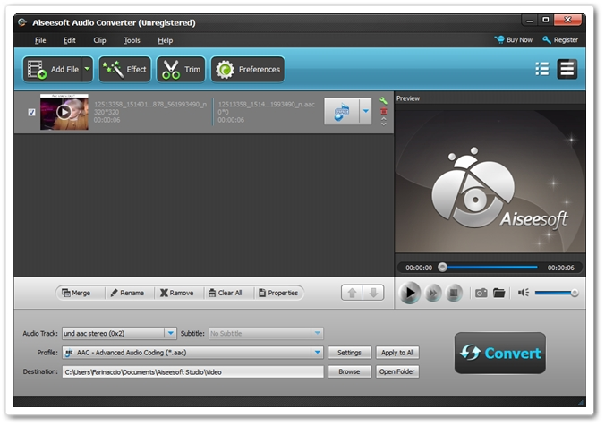 Imagem do programa