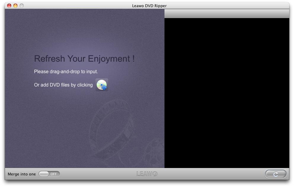 Leawo DVD Ripper for Mac - Imagem 1 do software