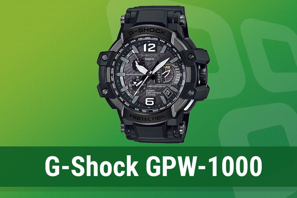 099c115b155 Review  relógio Casio G-SHOCK Gravitymaster GPW-1000 - TecMundo
