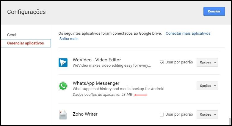 Qué pasa si desconectas WhatsApp de Google Drive