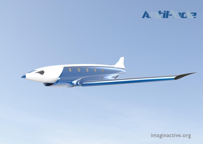 Excepcional AntiPode: conceito de avião hipersônico é capaz de voar a Mach 24  TS37