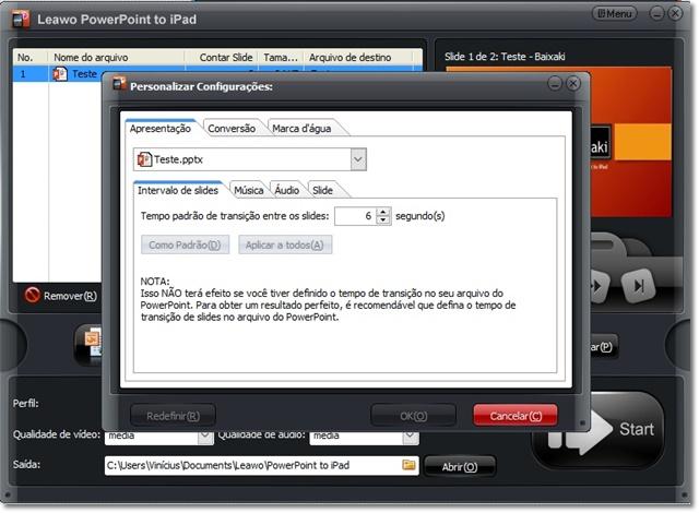Leawo PowerPoint to iPad - Imagem 1 do software