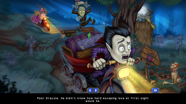 Incredible Dracula: Chasing Love Collector`s Edition - Imagem 1 do software