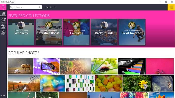 Pickit Photo Finder - Imagem 1 do software