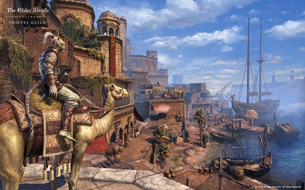 Bethesda revela data e detalha DLC Thieves Guild de Elder Scrolls Online TU