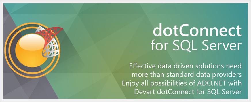 dotConnect for SQL Server - Imagem 1 do software