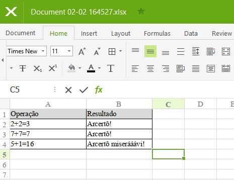 Polaris Office - Imagem 3 do software