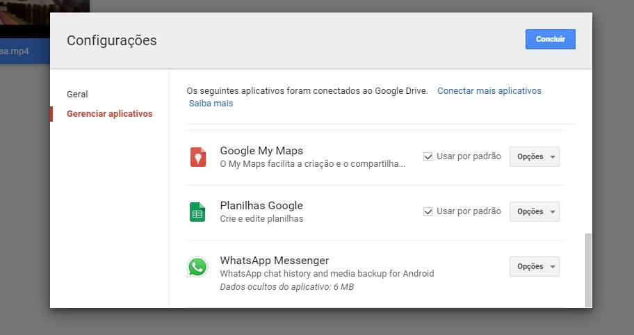 Seu WhatsApp possui integração com o Google Drive? Veja como