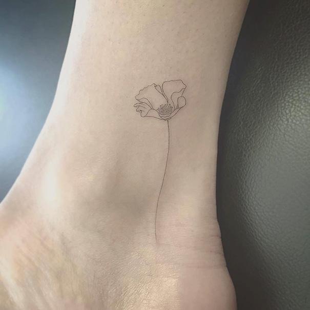 10 Tatuagens Perfeitamente Minimalistas Mega Curioso