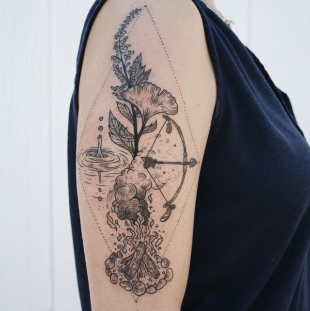 10 Sugestões De Tatuagens Inspiradas Na Natureza E No