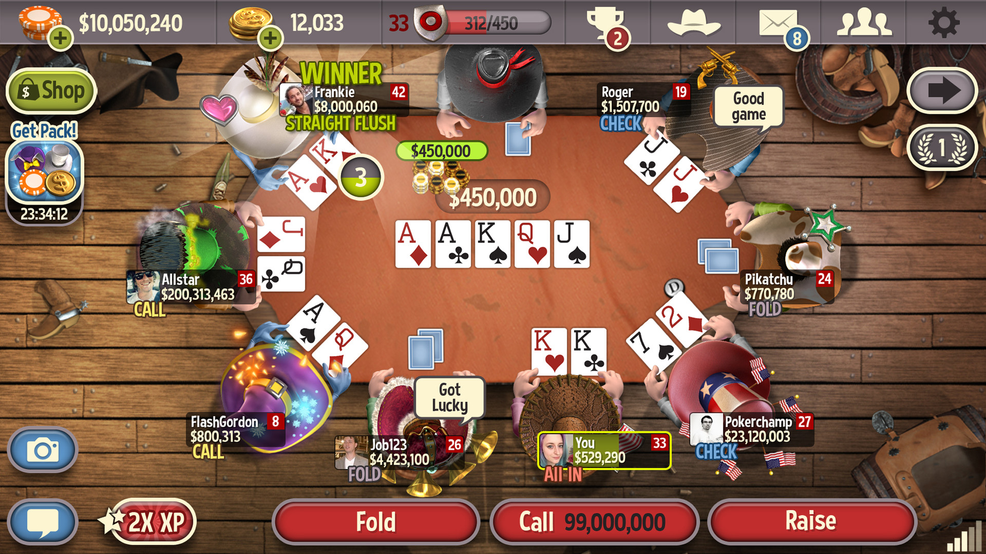 Governer Of Poker