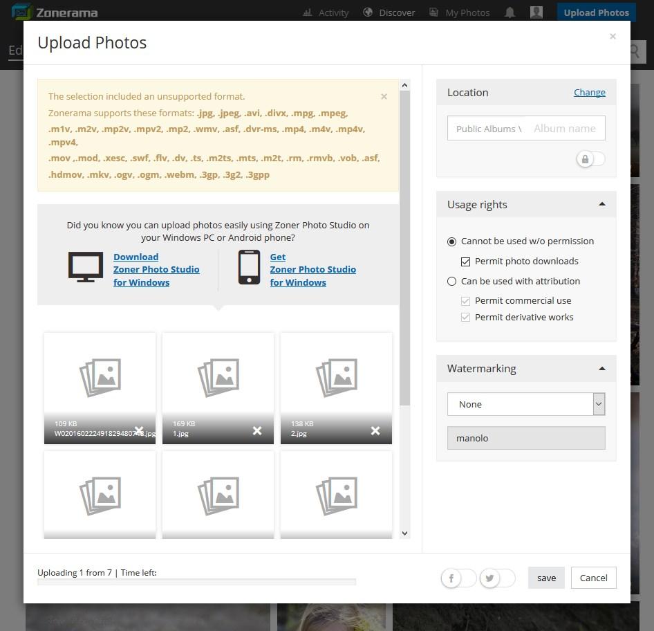 Zonerama - Imagem 3 do software
