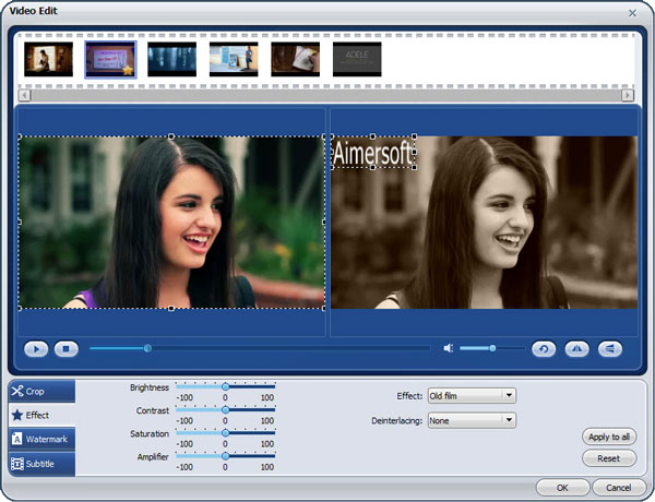 Aimersoft Video Converter Pro - Imagem 1 do software
