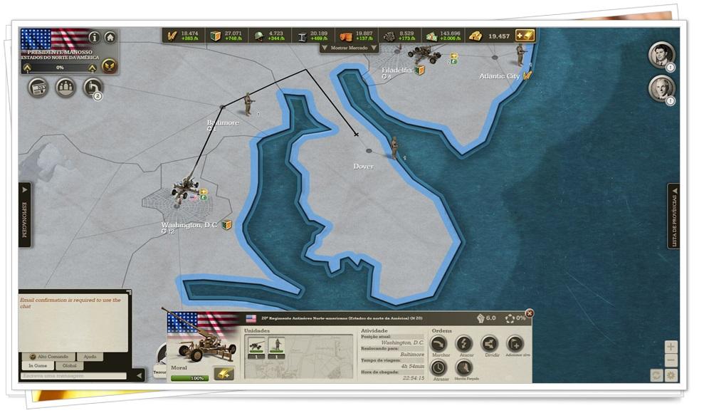 Call of War - Imagem 1 do software
