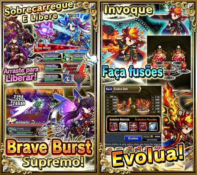 Brave Frontier - Imagem 3 do software