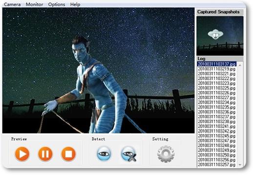 Video Surveillance Monitor - Imagem 2 do software
