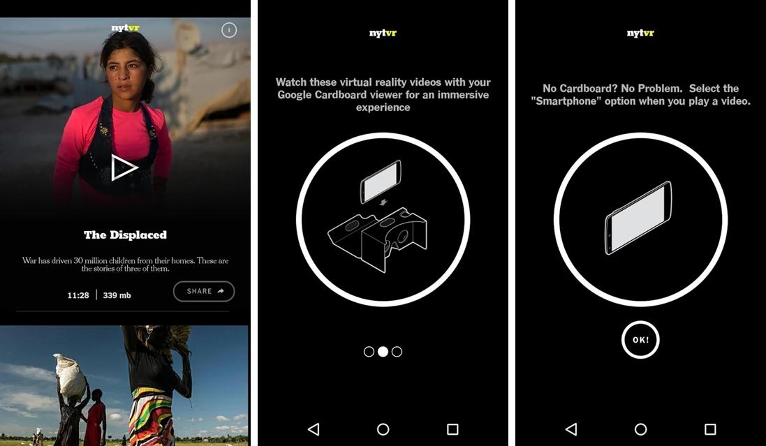 0e977a1a8 Trata-se de um aplicativo que conta notícias de forma interativa e  imersiva, com vídeos e fotos em 360 graus que ajudam você a mergulhar fundo  nas ...