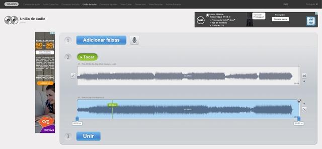 Online Audio Joiner Download para Web em Português Grátis