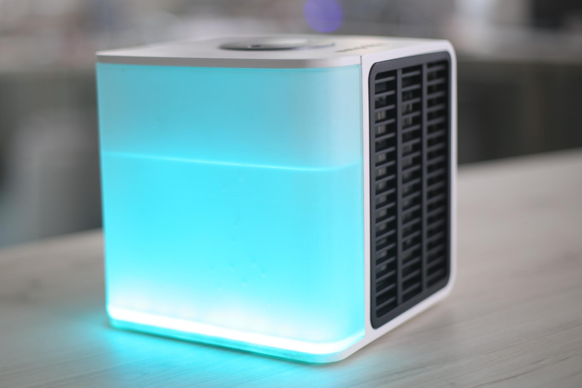 991b9045b Evapolar  incrível ar condicionado portátil funciona com água  vídeo  -  Ficha Técnica - TecMundo