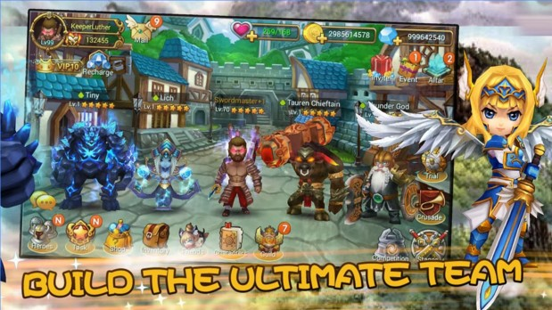 Mighty Warriors: Rise of East - Imagem 1 do software