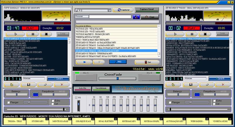 Winkochan DjMixer-Pro - Imagem 1 do software