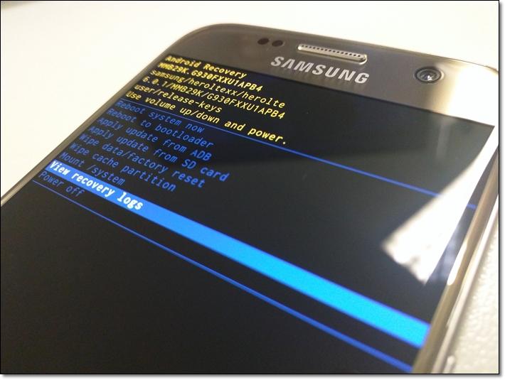 Como restaurar o Galaxy S7 ou S7 edge através do modo de recuperação