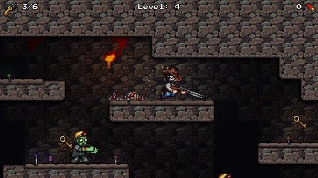 Zombie Mine - Retro Platformer - Imagem 1 do software