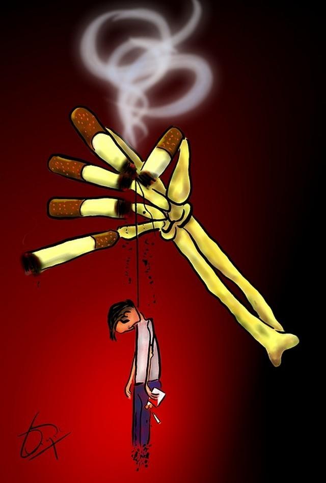 Si dejas a fumar se pones gordo o adelgazas