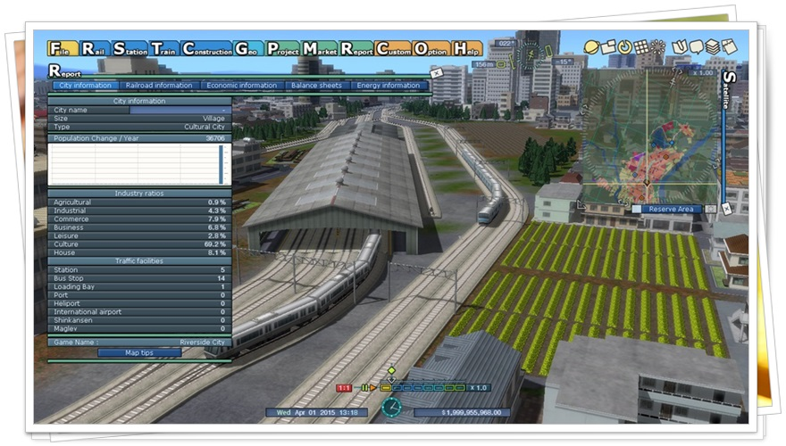 A-Train 9 V4.0 : Japan Rail Simulator - Imagem 2 do software