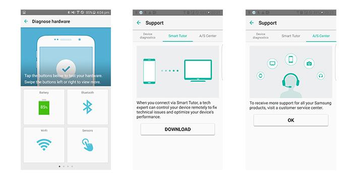 Samsung lança app que oferece diagnóstico e suporte técnico
